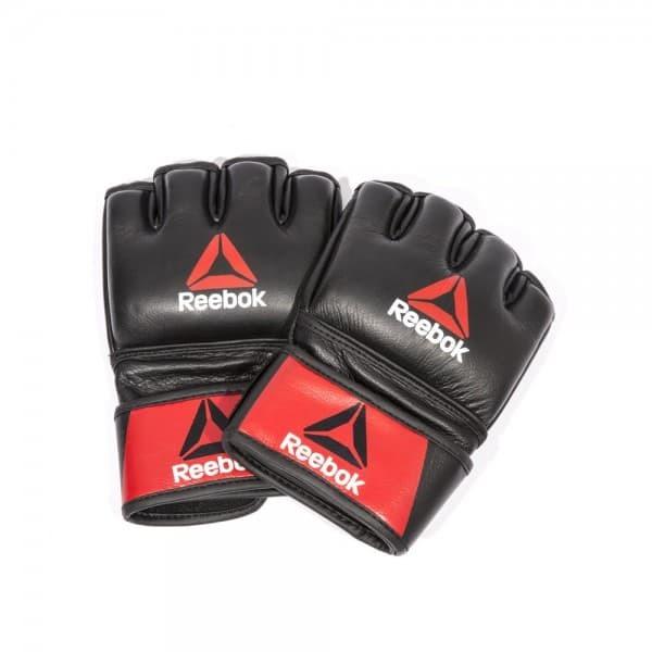 Профессиональные кожаные перчатки Reebok Combat для MMA, размер L