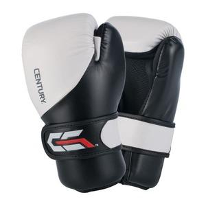 Перчатки спарринговые CENTURY C-Gear WHITE/BLACK