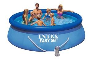 Бассейн надувной Intex Easy Set Pool - 28132.56422 366x76 см