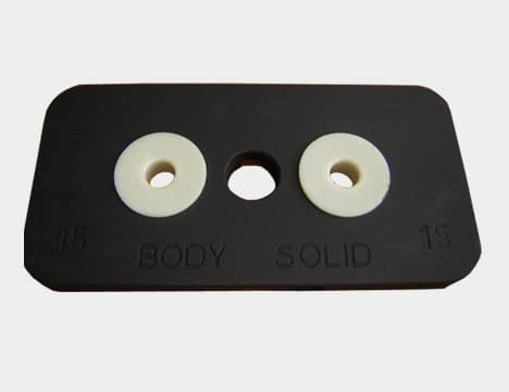 Весовой стек BODY SOLID WSP15 (5 шт)