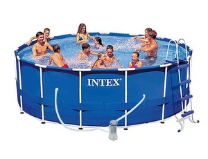 Бассейн каркасный Intex Metal Frame Pool - 28236-01 457х122 см