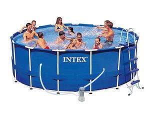 Бассейн каркасный Intex Metal Frame Pool - 28236-01 457х122 см