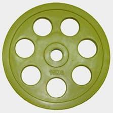 "Олимпийский диск евро-классик с хватом Ромашка"", 15 кг."""