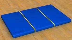 Мат гимнастический (складной) 1 м х1.5 м