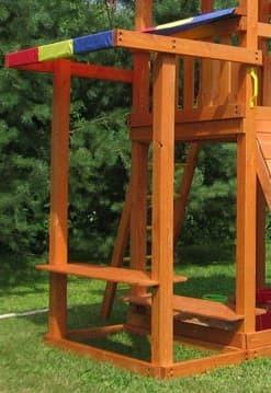 Столик с лавочкой и навесом для ДИП