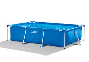 Прямоугольный бассейн Intex Rectangular Frame Pool арт. 28272 300х200х75 см