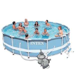 Бассейн каркасный Intex Metal Frame Pool - 28736-44 457х122см