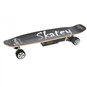 Электроскейт SKATEY 400W черный/оранжево-черный