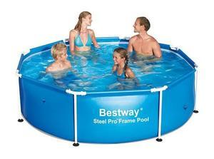 Бассейн каркасный BestWay Steel Pro Frame Pool - 56431.56045 244х61 см
