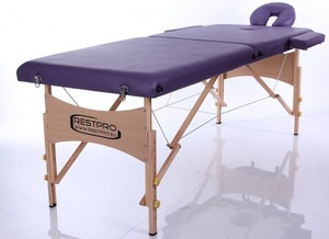 Массажный складной стол RESTPRO Classic 2 Purple