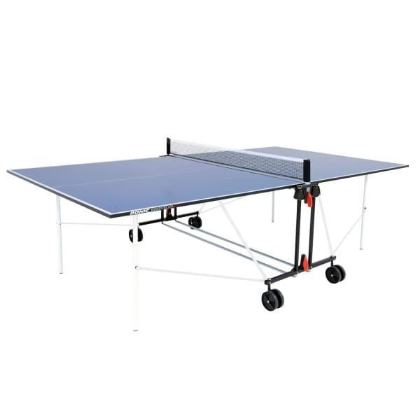 Теннисный стол для помещений DONIC INDOOR ROLLER SUN синий