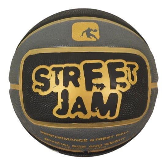 Мяч баскетбольный AND1 STREET JAM (black/grey/gold)