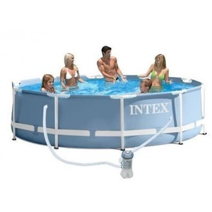 Бассейн каркасный Intex Prism Frame Pool - 28712 366х76 см