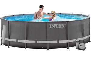 Бассейн каркасный Intex Ultra Frame Pool - 26322.28322 488х122 см