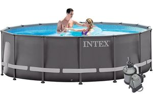 Бассейн каркасный Intex Ultra Frame Pool - 26324.28324 488х122 см