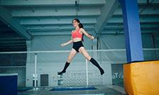 Упражнения на батуте - прыжки на батуте для похудения | Homefitness