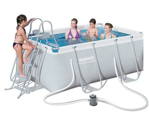 Бассейн каркасный Bestway Rectangular Frame Pool - 56629 282х196х84 см