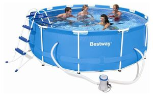 Бассейн каркасный BestWay Steel Pro Frame Pool - 56260 366х100 см