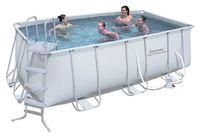Бассейн каркасный Bestway Rectangular Frame Pool - 56456.56241 412х201х122 см