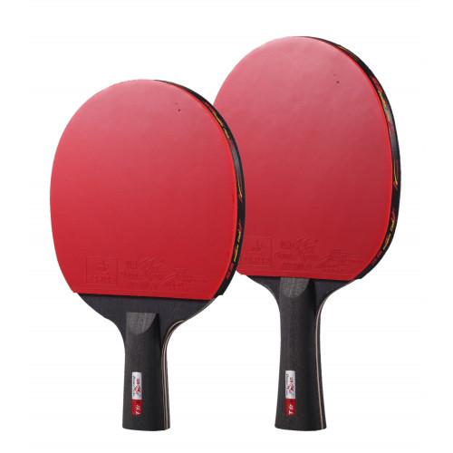 Ракетка для настольного тенниса Double Fish Black Carbon (3-Stars)