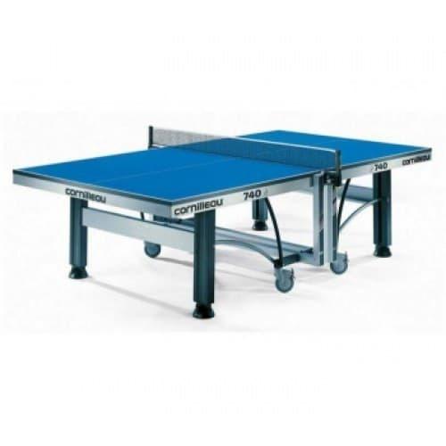 Профессиональный теннисный стол CORNILLEAU COMPETITION 740 синий/зеленый