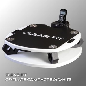 Виброплатформа CLEAR FIT CF PLATE COMPACT 201 WHITE