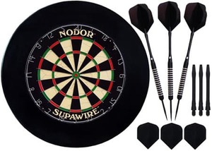 Комплект для игры в Дартс Nodor Black