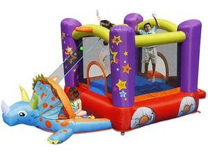 Детский надувной Батут «Динозаврик» HAPPY HOP 9122