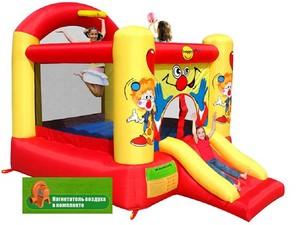 """Детский надувной батут  """"Клоун"""" HAPPY HOP 9304Y"""