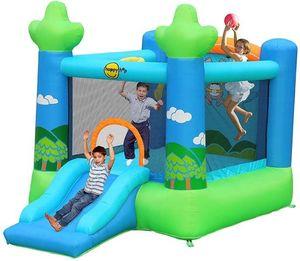 Детский надувной Батут «Прыжок в небо» HAPPY HOP 9031