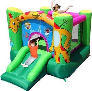 Детский надувной Батут с горкой HAPPY HOP «Австралия» 9403