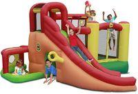 """Детский надувной батут с горкой """"Игровой центр 11 в 1"""" HAPPY HOP 9406N"""
