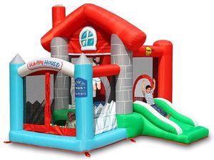 """Детский надувной батут """"Счастливый дом"""" HAPPY HOP 9315"""