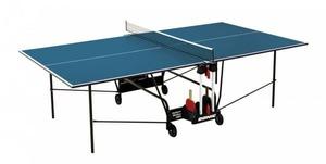 Теннисный стол для помещений DONIC INDOOR ROLLER 400 синий