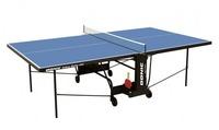 Теннисный стол для помещений DONIC INDOOR ROLLER 600 синий