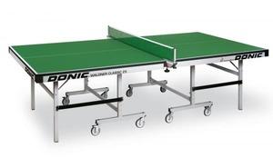 Профессиональный теннисный стол для помещений DONIC WALDNER CLASSIC 25 зеленый