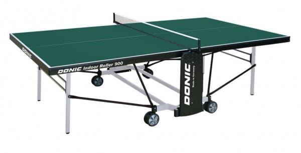 Теннисный стол для помещений DONIC INDOOR ROLLER 900 зеленый