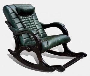 Массажное кресло-качалка EGO WAVE ELITE EG-2001 (цвет Малахит)