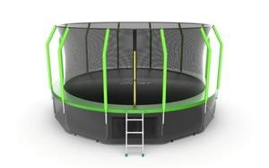 Батут EVO JUMP Cosmo 16ft (Green) + Lower net
