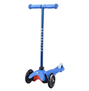 Самокат со светящимися колесами PLAYSHION FS-MS001LB (Синий)