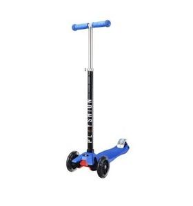 Самокат Макси PLAYSHION со светящимися колесами FS-MS002LB (Синий)