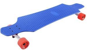 Лонгборд пластиковый PLAYSHION FS-PL001B (Синий)