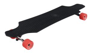 Лонгборд пластиковый PLAYSHION FS-PL001BK (Черный)