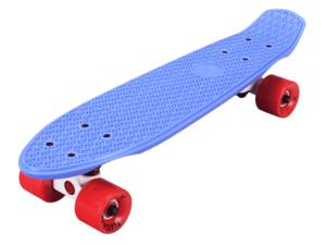 Скейтборд пластиковый PLAYSHION FS-PS001B (Синий)
