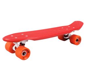 Скейтборд пластиковый PLAYSHION FS-PS001R (Красный)