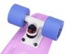 Скейтборд пластиковый PLAYSHION FS-PS001V (Фиолетовый)