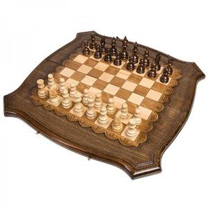 Шахматы + Нарды резные 30, Ohanyan