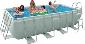 Бассейн каркасный Intex Rectangular Ultra Frame Pool - 28350 400х200х100 см