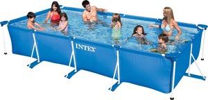Прямоугольный бассейн Intex Rectangular Frame Pool арт. 28273 450х220х84 см