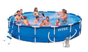 Бассейн каркасный Intex Metal Frame Pool - 28232 457х91 см